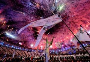 Церемония открытия ХХХ летних Олимпийских игр в Лондоне