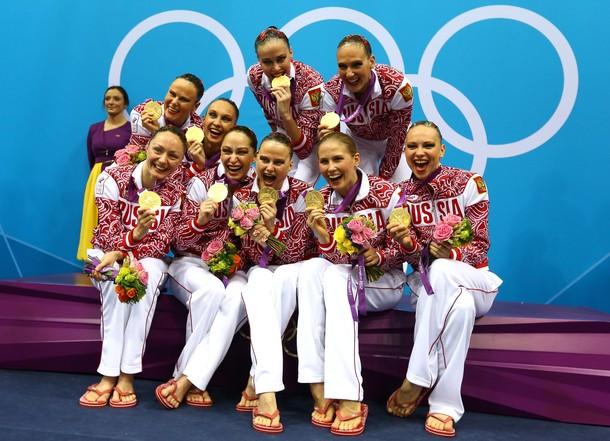 Сборная России по синхронному плаванию - лучшая!