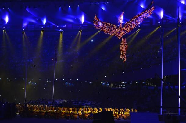 Церемония закрытия ХХХ летних Олимпийских игр в Лондоне