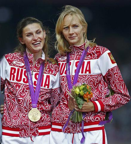 Анна Чичерова и Светлана Школина