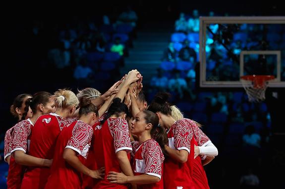 Женской сборной России по баскетболу до медалей чуть-чуть не хватило