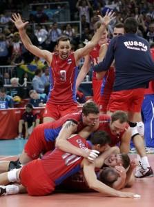 Мужская сборная России по волейболу - Олимпийские чемпионы Лондона-2012