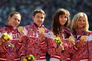 Женская сборная России в эстафете 4×100 м (T35/T38) завоевала золото Паралимпиады