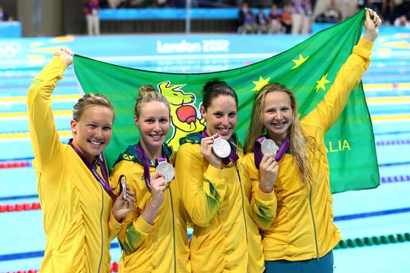 2. Австралия (слева-направо: Палмер Кайли, Бэррэтт Бронте, Коуттс Алисия, Шлэнгер Мелани)