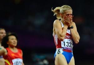 Победный финиш Маргариты Гончаровой в беге на дистанции 100 м