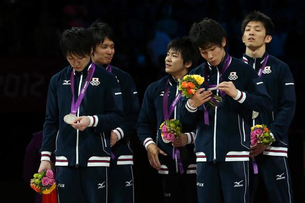 Япония (слева-направо: Утимура Кохэй, Танака Юсуке, Ямамуро Кодзи, Танака Казухито, Като Рехеи)