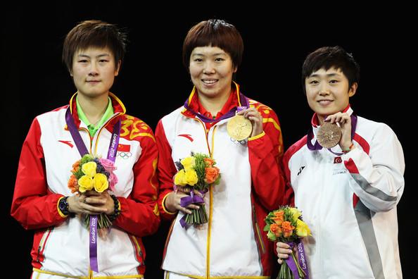 1. Ли Сяося (Китай)  2. Дин Нин (Китай)  3. Фэн Тяньвэй (Сингапур)