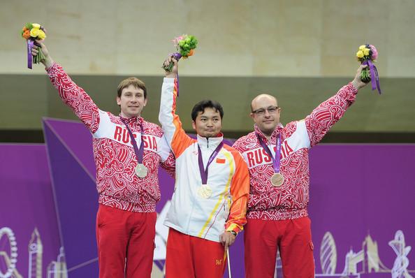 Сергей Малышев (Россия), Ли Цзяньфэю (Китай), Валерий Пономаренко (Россия)