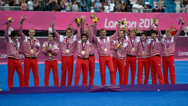 Сборная России по футболу (7х7) - чемпионы Паралимпиады 2012