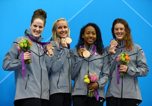 США (слева-направо: Франклин Мелисса, Харди Джессика, Нил Лиа, Шмитт Эллисон)