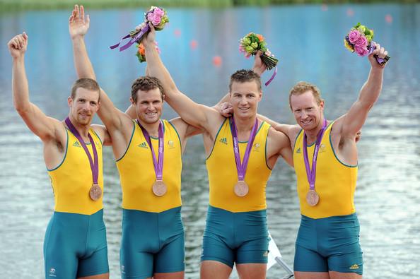 3. Австралия (слева-направо: Морган Кристофер, Форстерлинг Карстен, Макрэ Джеймс, Нунан Дэниель)