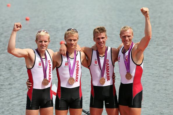 3. Дания (слева-направо: Барсё Якоб, Йоргенсен Мортен, Винтер Каспер, Эббесен Эскилд)