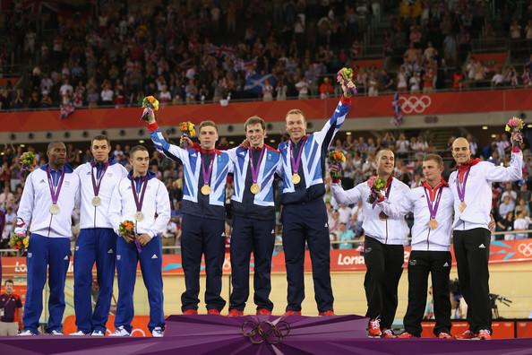 1. Великобритания (слева-направо: Хайндс Филип, Кенни Джейсон, Хой Крис)  2. Франция (слева-направо: Буже Грегори, Сиро Кевин, Д-Алмейда Микаэль)  3. Германия (слева-направо: Фёрстеманн Роберт, Эндерс Рене, Леви Максимилиан)