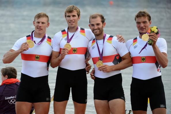 1. Германия (слева-направо: Шульце Карл, Венде Филипп, Шооф Лауритц, Грохманн Тим)