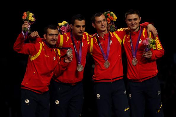 2. Румыния (слева-направо: Долничану Тибериу, Думитреску Рареш, Заломир Флорин, Сирицяну Александру)