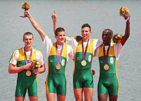 1. ЮАР (слева-направо: Томсон Джеймс, Бриттейн Мэттью, Смит Джон, Ндлову Сизви)