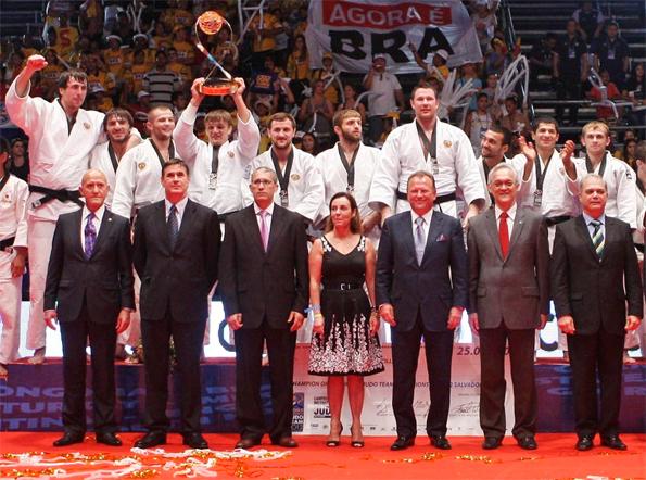 Сборная России - победитель командного Чемпионата мира 2012 по дзюдо