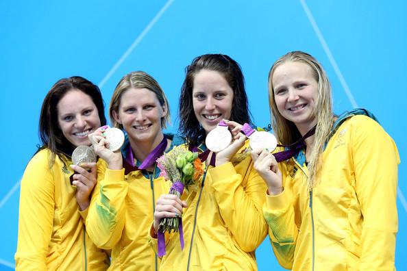 2. Австралия (слева-направо: Сибом Эмили, Джонс Лейзел, Коуттс Алисия, Шлэнгер Мелани)