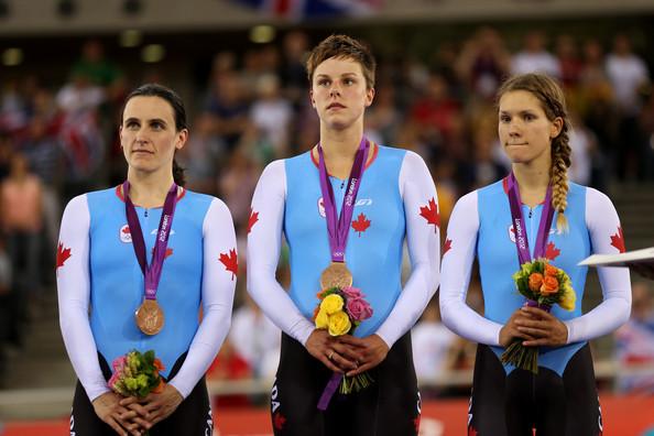 3. Канада (слева-направо: Уиттен Тара, Карлетон Джиллиан, Глассер Жасмин)