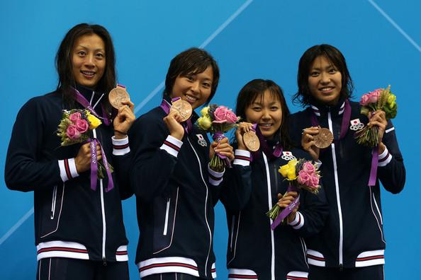 3. Япония (слева-направо: Теракава Ая, Сузуки Сатоми, Като Юка, Уэда Харука)