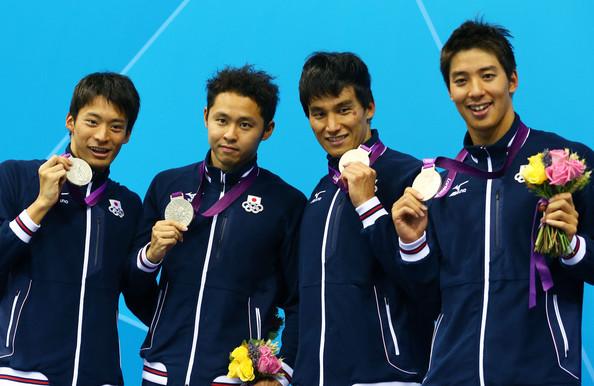 2. Япония (слева-направо: Ирие Ресуке, Китаджима Косуке, Мацуда Такеши, Фуджии Такуро)