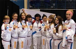 Сборная России - обладатель бронзовых наград командного Кубка мира 2012