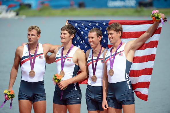 3. США (слева-направо: Очаль Гленн, Рюммель Хенрик, Коул Чарльз, Голт Скотт)