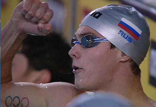 Владимир Морозов - двукратный чемпион Европы по плаванию на короткой воде 2012