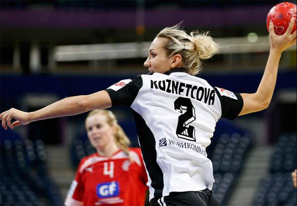 Крайняя сборной России Полина Кузнецова попала в символическую сборную сербского Евро-2012
